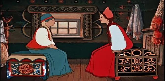 Аленький цветочек. Советский мультфильм. Сказка С.Т. Аксакова. смотреть