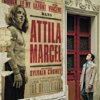 «Аттила Марсель» от создателя культового мульта «Трио из Бельвилля» смотреть