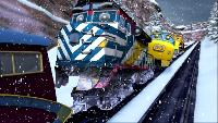 Чаггингтон: Веселые паровозики Сезон-4 Снежный патруль