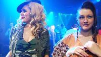 Даёшь молодёжь! Марина и Диана Милитари-стайл