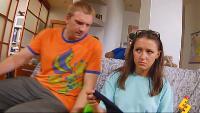 Даёшь молодёжь! Молодая семья Валера и Таня Парный носок