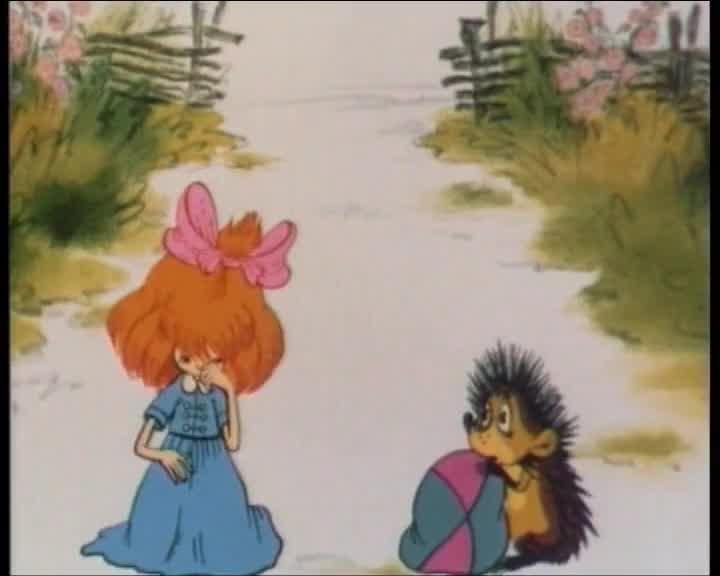 Ёжик и Девочка смотреть