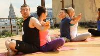 Фитнес Сезон 1 выпуск 24: Парная йога