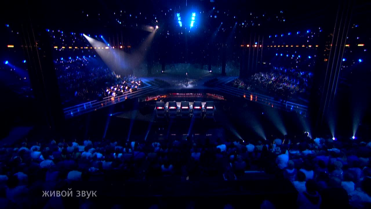 Главная сцена Первый полуфинал Виталий Гогунский. Выступление (15 часть)