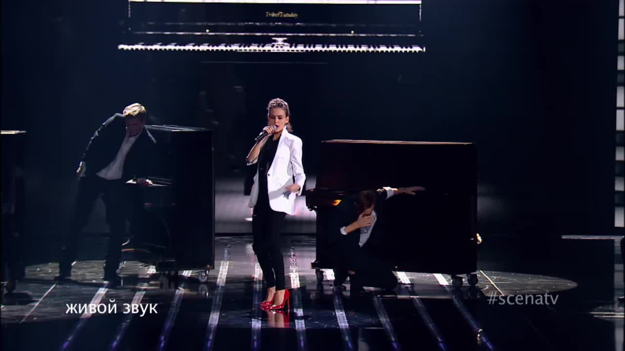 Главная сцена Третий четвертьфинал Анна Шестернина. Выступление (17 часть)
