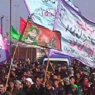 Ирак: рекордное число паломников прибыло в Кербелу на могилу имама Хусейна смотреть