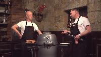 Каба4ок Сезон-1 Приготовление свиных ребер на угольном гриле