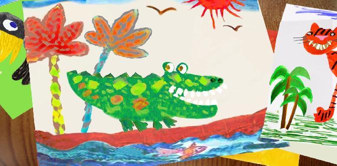 Как кричит крокодил смотреть