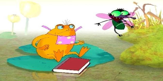 Как лягушка научилась квакать (Беларусьфильм, 2010) • Видеоняня ТВ смотреть