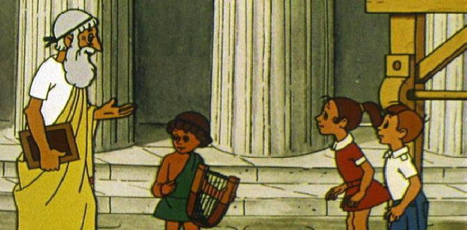 Коля, Оля и Архимед смотреть
