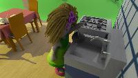 Кукольный домик Сезон-1 Кухня