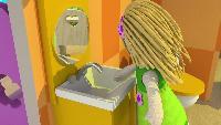 Кукольный домик Сезон-1 Ванная комната