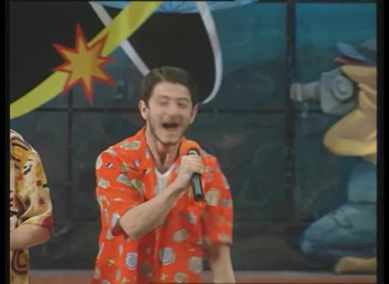 КВН 2000 Высшая лига Утомленные солнцем 1/8 финала приветствие