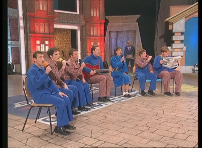 КВН 2004 КВН Высшая лига (2004) 1/2 - Сборная Пятигорска - Музыкальный финал