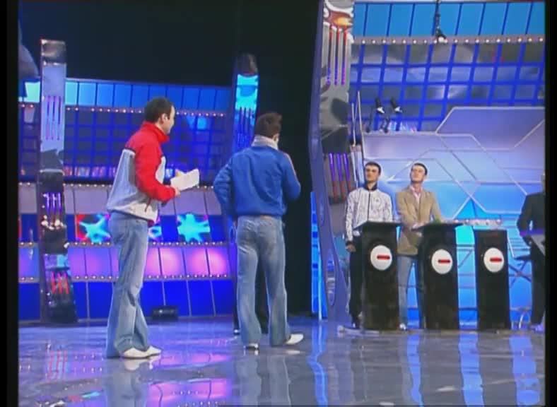 КВН 2007 Высшая лига Пирамида 1/8 финала музыкальный конкурс