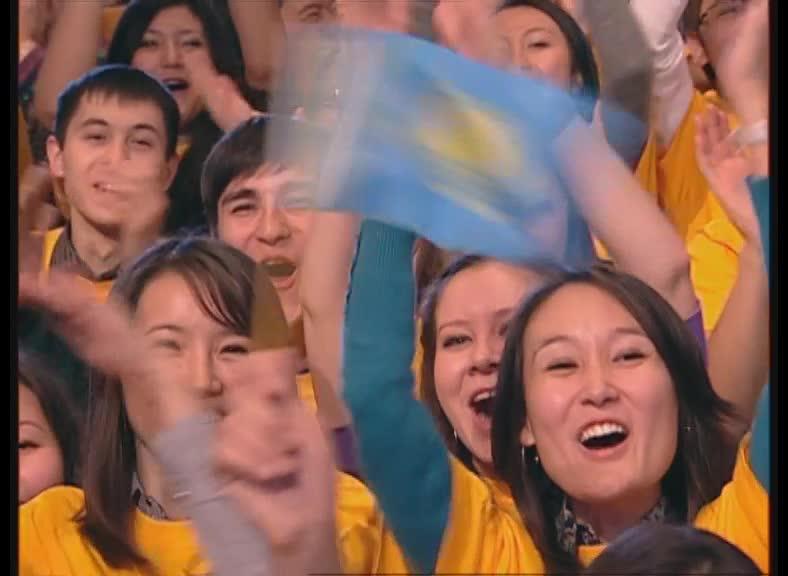 КВН 2010 Высшая лига Казахи 1/2 финала СТЭМ