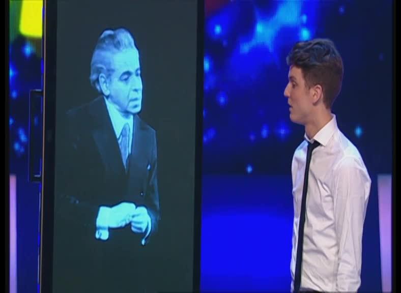КВН 2012 Высшая лига Факультет журналистики 1/2 финала конкурс одной песни