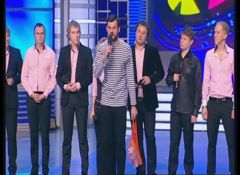 КВН 2012 Высшая лига Триод и Диод 1/4 финала конкурс одной песни