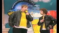КВН Нарезки КВН Высшая лига (2001) 1/2 - БГУ - Приветствие