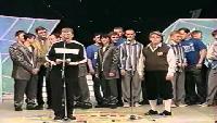 КВН Нарезки КВН Высшая лига (2002) 1/8 - УЕздный город - Разминка