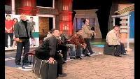 КВН Нарезки КВН Высшая лига (2004) 1/2 - РУДН - Финальная песня