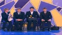 КВН Нарезки КВН Высшая лига (2005) 1/2 - ЛУНа - Приветствие