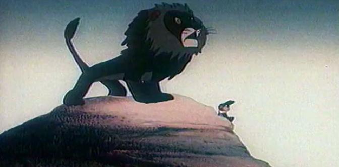 Лев и заяц смотреть