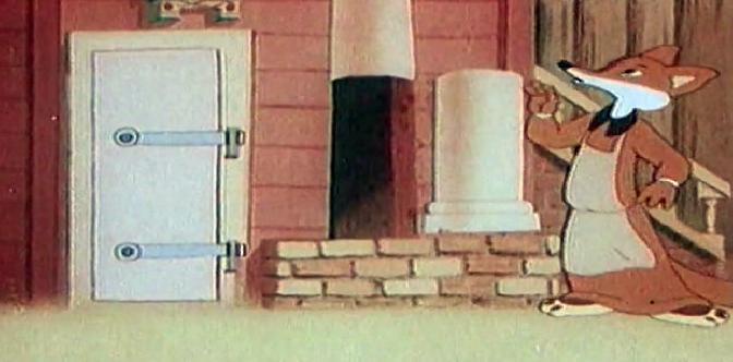 Лиса-строитель смотреть