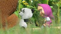 Маша и Медведь Сезон 1 Серия 17. Дальний родственник