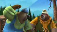 Медведи-соседи 1 сезон 24 серия. Помощники лесоруба