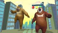 Медведи-соседи Сезон-2 Король обезьян и Принцесса Железные Веер