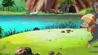 Мудрые сказки тётушки Совы Медвежонок Ых и настоящие друзья Медвежонок Ых и настоящие друзья - Пещера