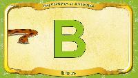 Мультипедия животных Английский алфавит Английский алфавит - Letter B - Boa