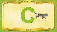 Мультипедия животных Английский алфавит Английский алфавит - Letter C - Cat