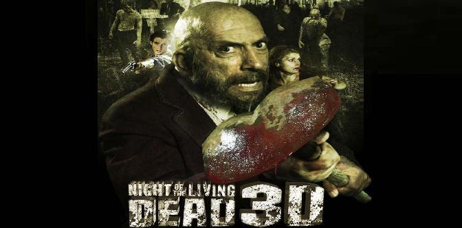 Ночь живых мертвецов 3D смотреть