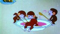 Обезьянки Сезон-1 Серия 1. Как обезьянки обедали