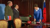 Одна за всех Президент Иванова Специальная машина для женщин