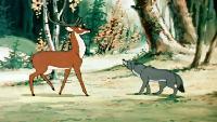 Олень и волк