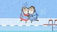 Овечки Холли и Долли Сезон-3 Холли и Долли в бассейне