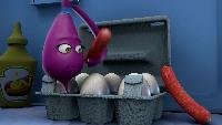 Овощная вечеринка Сезон-1 Колбаски на завтрак