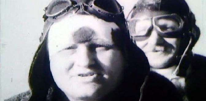 Переход товарища Чкалова через Северный полюс смотреть