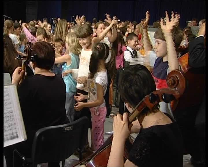 Прелюдия для детства с оркестром смотреть