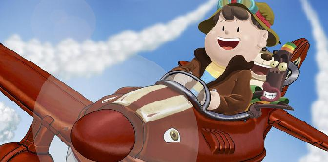 Приключения красного самолетика смотреть