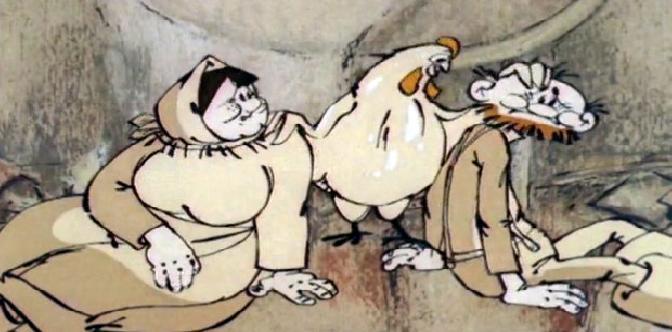 Про деда, бабу и курочку Рябу смотреть