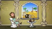 Профессор Почемушкин Сезон-1 Почему страус прячет голову в песок?