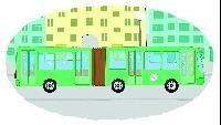 Раскраска Сезон-1 Автобус, троллейбус, маршрутка