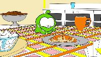 Раскраски Сезон-1 Учим цвета - Ам Ням - Любимая еда