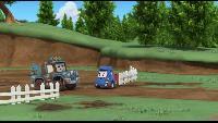 Робокар Поли и его друзья Сезон 1 Робокар Поли и его друзья. Сезон 1. Серия 36. Чистюля Кэп
