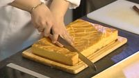 Сладкие истории 1 сезон Песочный пирог с карамельно-ореховой начинкой