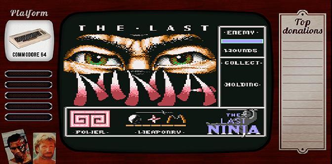 Старые старые игры. Выпуск 1. The Last Ninja на commodore 64 смотреть